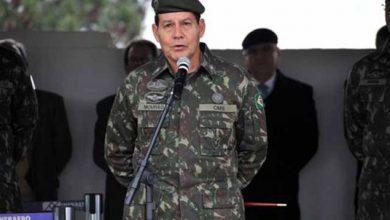 General fala em possibilidade de intervenção