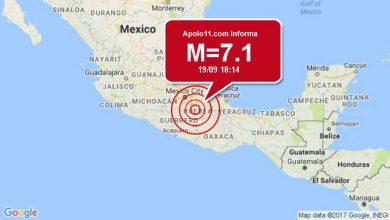 Terremoto de 7.1 atinge em cheio a Cidade do México