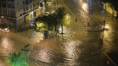 Maior tempestade dos últimos tempos arrasa o Rio de Janeiro