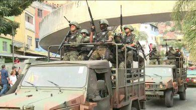 Presidente declara intervenção militar no RJ